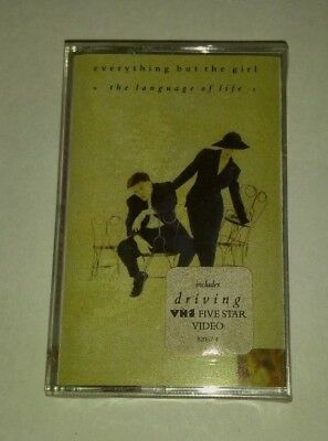 1990 Everything But The Girl – The Language Of Life Sealed Cassette 7 82057-4