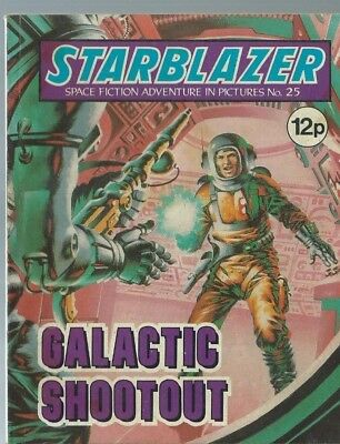 Galactic Shootout,starblazer Space Fiction Adventure In Pictures,comic,no.25
