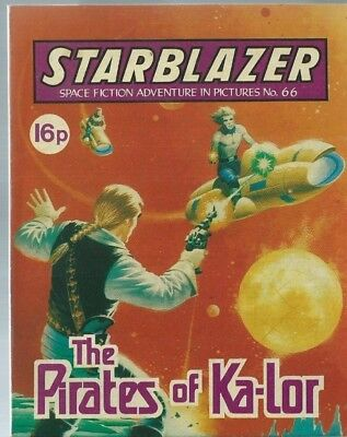 The Pirates Of Ka-Lor,starblazer Space Fiction Adventure In Pictures,comic,no.66