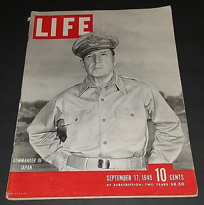 September 17, 1945 LIFE Magazine war WWII Sept 40s advertising ads FREE SHIPPING