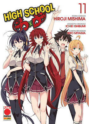 manga HIGH SCHOOL DXD N. 11 - nuovo - panini planet italiano