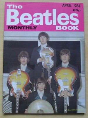 Beatles Beatles Monthly Book No.96 Magazine April 1984 A5 Sized Fan Booklet With
