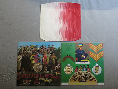 THE BEATLES Sgt. Pepper's Lonely hearts club band PARLOPHONE LP + i/s PCS 7027!