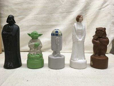 Vintage Star Wars Shampoo Bottles