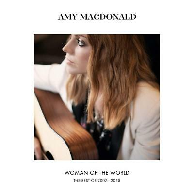 AMY MACDONALD WOMAN OF THE WORLD THE BEST OF 2007-2018 CD (Released 23/11/2018)