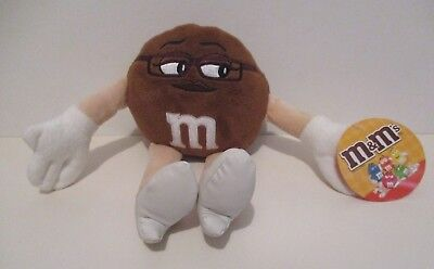 "M&m's Plush  Ms. Brown Candy Character Toy 9"" Tall 2014 Mars Inc Advertising"