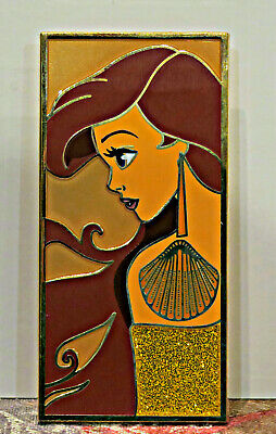 DISNEY FANTASY PIN ARIEL HEROINE PROFILE LE 50 Pin New THE LITTLE MERMAID