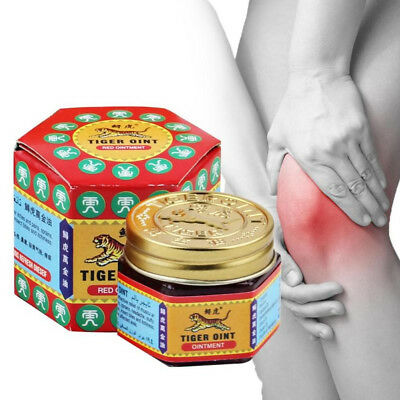 Effective Tiger Balm Herbal Red Ointment Massage Relief Muscle Pain Cool Oil