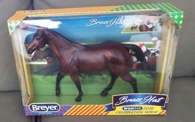 Breyer BRASS HAT Matte Bay – BreyerFest 2018 Celebration Horse - FREE USA SHIP