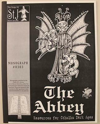 Chaosium Call of Cthulhu MU Monograph Abbey, The (Black and White Cover) SC NM