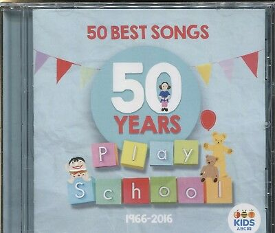 50 Years Play School - 1966-2016 - 50 Best Songs - Cd