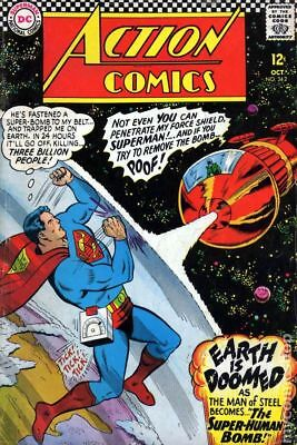 Action Comics (DC) #342 1966 GD/VG 3.0 Stock Image Low Grade