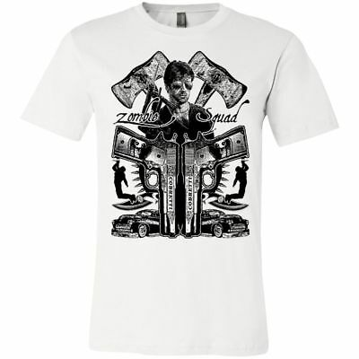 Cobra Cult Movie T-Shirt - Zombie Squad - Sylvester Stallone Shirt - 80's Action