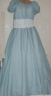 Civil War Southern Light Blue Chemise Gown Day Dress