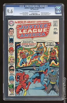 Justice League of America (1st Series) #82 1970 CGC 9.6 0958510005