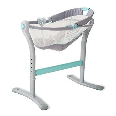 Swaddleme By Your Bed Sleeper Baby Infant Nursery Furniture Rocking Rocker Gray