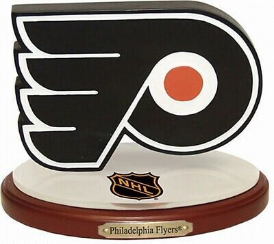 Philadelphia Flyers 3D Team Logo Hockey Ornament with Base, NHL Ice Hockey, New