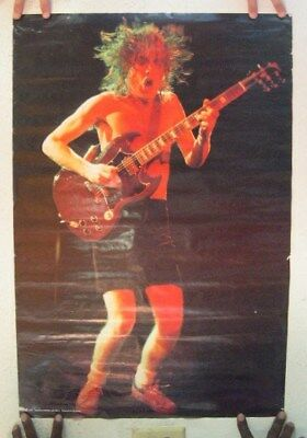 AC/DC Poster  Angus Young ACDC AC DC ACDC