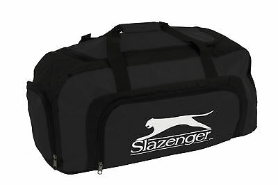 Slazenger Large Sports Gym Travel Holliday Duffel Holdall Bag Shoe Compartment