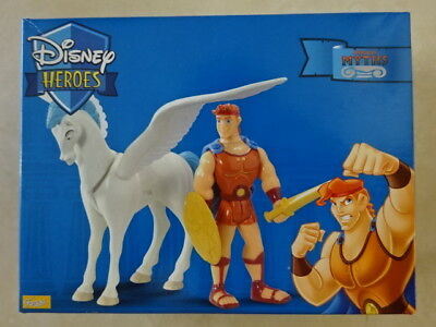 Famosa Disney Heroes Hercules Pegasus Flying Horse figure set ULTRA RARE
