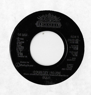 """Blur * Country House * 7"""" Jukebox Issue Food Food 63 Plays Great"""