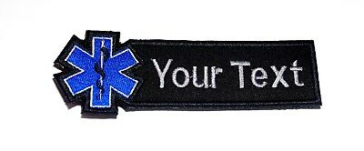 DON'T SHOOT PARAMEDIC Large XL 10x4 inch embroidered EMT EMS