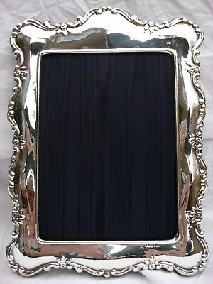 XLarge Lovely Finest Quality 999 Hallmarked Silver London Britannia Photo frame.