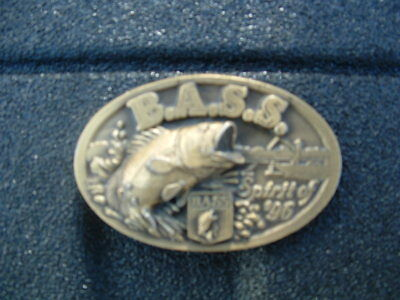 Large Mouth Bass Belt Buckle Made In Usa For Bass Anglers Sportsman Society