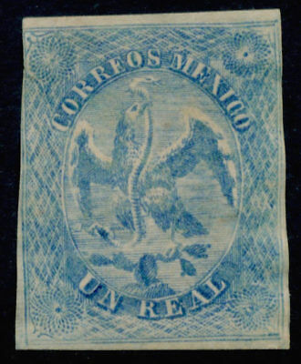 yy06 Mexico Un Real Socalled Eagle Essay without the crown. Est $20-40 Nice