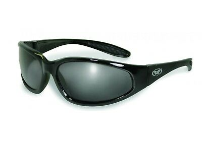 Global Vision Hercules Plus smoke Antifog Biker Sonnenbrille extrem flexibel
