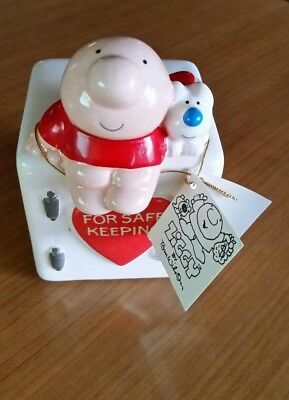 ZIGGY & Fuzz ceramic bank NEW WITH TAG.  Vintage, great GIFT!!!