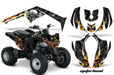 ATV Decal Graphic Kit Wrap For Can-Am DS250 DS 250 Bombardier 2006-2016 MOTOHD K