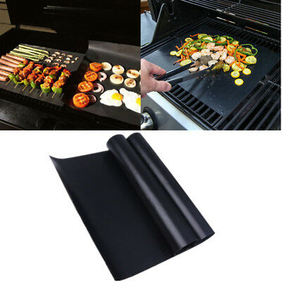 2 Oven Cooker Liner BBQ Reusable Mat Non Stick Universal Easy Clean Kitchen Tool