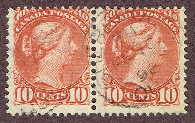 Canada Small Queens 45 Pair Sherbrooke Quebec  Fine (June22