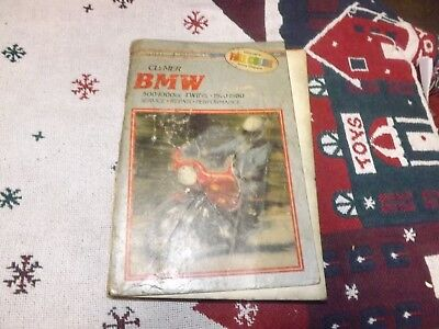 Clymer BMW 500-1000 Twins 1970-1980 Motorcycle Service Repair Shop Manual RARE