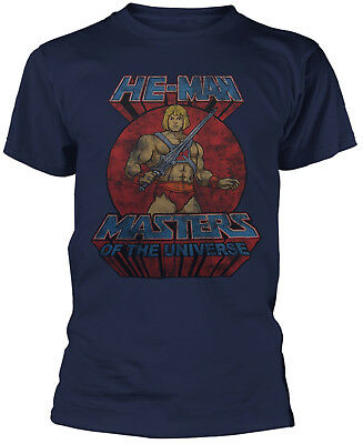 MASTERS OF THE UNIVERSE HE-MAN He-Man T-SHIRT OFFICIAL MERCHANDISE