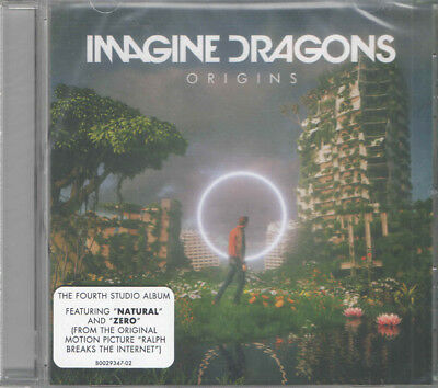 Imagine Dragons - Origins [CD] PA Explicit Natural New & Sealed
