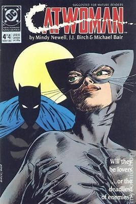 Catwoman (1st Series) #4 1989 FN Stock Image