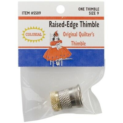 Colonial Raised-edge Thimble-size 9