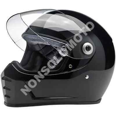 d10686ee Casco Moto Integrale Vintage Retro'Naked Enduro Biltwell Inc Lane Splitter  Gl..