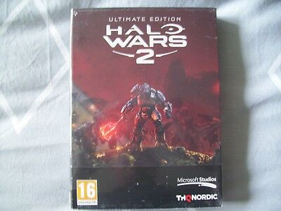 Halo Wars 2 Ultimate Edition Pc Dvd New&sealed