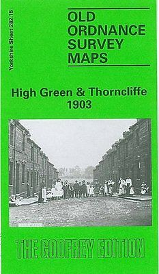 Old Ordance Survey Map High Green & Thorncliffe 1903