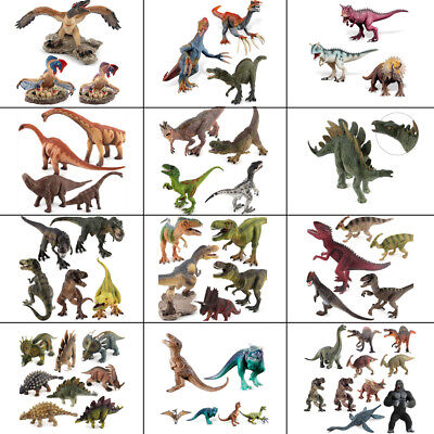 VARIOUS TYPES REALISTIC Rubber Dinosaur Models Action Figure Toy Kids Xmas  Gift