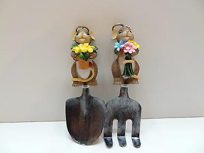 Charming Tails I DIG BEING WITH YOU Gardening Tools Figurines 4022443 Mouse NIB