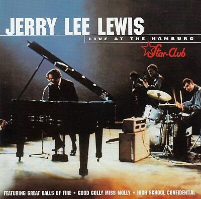 Jerry Lee Lewis : Live At The Star Club, Hamburg / Cd - Top-Zustand