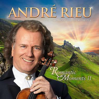 ANDRE RIEU ROMANTIC MOMENTS II (2) CD & DVD SET (Released December 7th 2018)
