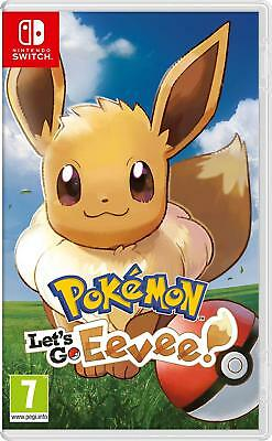 Pokemon Let's Go Eevee Per Nintendo Switch Nuovo Originale Italiano