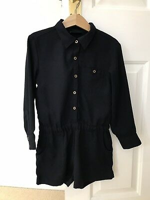 Girls Playsuit/NEXT/Navy/Age 5 Years