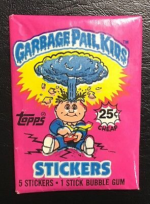 1985 Topps GARBAGE PAIL KIDS Series 1 Unopened Wax Pack