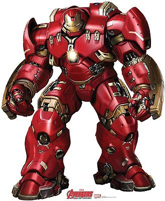 Avengers Movie Age of Ultron Pappaufsteller Stand Up Hulkbuster Iron Man 188cm